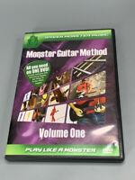 Green Monster Music's Monster Guitar Method Vol 1 Beginner/Novice DVD