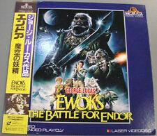 Ewok The Battle For Endor(1988) Laserdisc Star Wars George Lucas Japan w/OBI