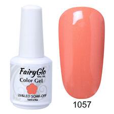 FairyGlo UV LED Gel Nail Polish Soak off Nail Color Lacquer Beauty Manicure 1057