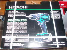 "Hitachi #DV18DBFL2 18V 1/2"" Lithium Ion Brushless Hammer Drill Kit-SEALED"