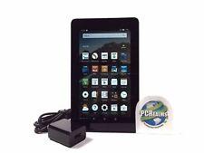 Amazon Kindle Fire 7 w/ Alexa 8GB 5th Gen SV98LN Wi Fi Black - w/ Headphones