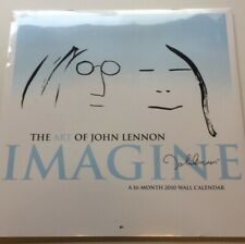 2010 John Lennon wall calendar