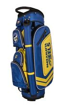 360078 PARRAMATTA EELS NRL TEAM LOGO DELUXE GOLF CLUB CART BAG