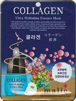 Malie Ultra Hydrating Essence Maskpack Korean Masksheet cosmetics COLLAGEN 1 pcs