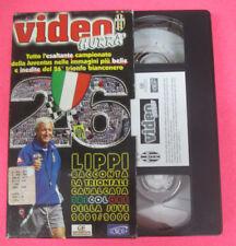VHS film VIDEO HURRA' Lippi racconta trionfale cavalcata juve 2001(F107) no dvd