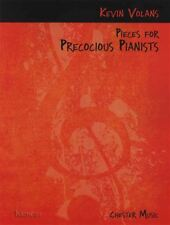 Pieces for Precocious Pianists Piano Sheet Music Book Intermediate Kevin Volans