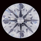 7.53ct VVS1/12.80 mm GENUINE ICE H-I WHITE COLOR ROUND LOOSE REAL MOISSANITE