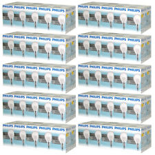 100 x PHILIPS Ampoule gouttes 40W E14 Transparent 40 watt bille