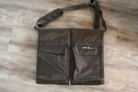 Eddie Bauer Travel Diaper Changing Pad with Pockets Brown