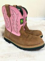 JOHN DEERE JD3185 JOHNNY POPPERS PINK YOUTH - SIZE 6 M