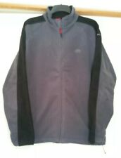 TRESPASS GREY AIRTRAP A300 ZIP UP FLEECE JACKET SIZE XL  WALKING OUTDOORS