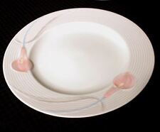 "Mikasa Serenade Pink LDB10 Chop Plate or Round Platter 12 1/8"" by Helena Uglow"