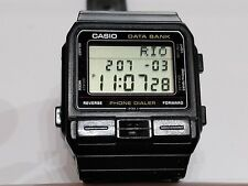 Casio Databank Phone Dialer Digital LCD VINTAGE Watch dba80