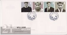 UNADDRESSED CARDIFF PMK GB ROYAL MAIL FDC COVER 2003 PRINCE WILLIAM 21st SET