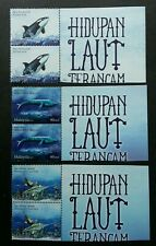 Malaysia Endangered Marine Life 2015 Whale Ocean Cetacean (stamp title) MNH