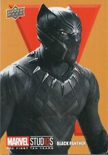 Marvel The First Ten (10) Years, Roman Numerals X Black Panther Chase Card RN82