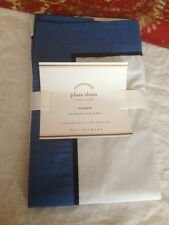 NWT Pottery Barn Plaza Standard Sham NWT 400 thread count - Lapis Blue