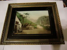 Two Late 19th Century Colour Photographs in Original Frames with Studio Label