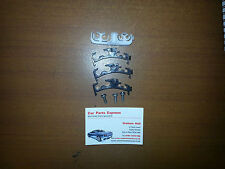 FORD ESCORT RS TURBO SERIES 2 BRAKE AND FUEL PIPE CLIP SET NEW GENUINE