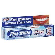 Plus White Whitening Toothpaste Cool Mint Paste  3.5 oz