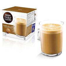 Dolce gusto cafe au lait Coffee (6 Cajas, Total 96 cápsulas) 96 porciones
