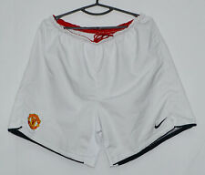 MANCHESTER UNITED 2008/2009 HOME FOOTBALL SHORTS JERSEY NIKE SIZE L ADULT