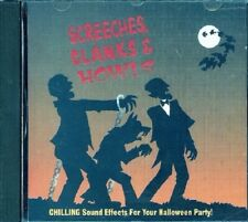 Screeches, Clanks & Howls (CD, 1993, K-tel) No Artists, Holloween Sound Effects