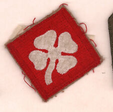 4th Army Army patch