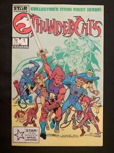 THUNDERCATS #1 VF STAR COMICS MARVEL rare 3rd print CHEETARA LION-O TYGER 1985