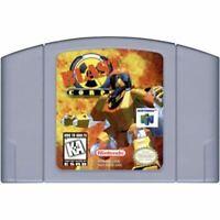 Blast Corps Nintendo 64 N64 Authentic Game Cartridge *CLEAN VG