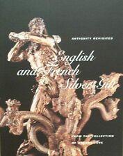 BOOK/LIVRE/BOEK/BUCH : ENGLISH & FRENCH SILVER GILT/ZILVER/ARGENT/SILBER