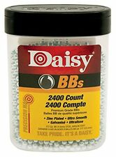 2400 Pc .177cal Daisy Smooth Round Zinc-Plated Steel BB Set For Gun Pistol Rifle