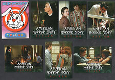 PROMO CARDS: AMERICAN HORROR STORY ASYLUM Breygent 6 DIFFERENT + EXCLUSIVE CARD