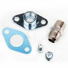 Kinugawa Turbo Oil Return Flange For TOYOTA Soarer (JZZ30) 1JZ-GTE 10AN Fitting
