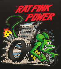 "Ed Roth ""Big Daddy"" Rat Fink Power Chopper HEMI Hot Rods Sticker or Magnet"
