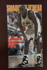 Shaquille ONeal - Larger Than Life (VHS, 1995)