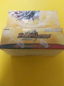 Duel Masters DM-02 Evo-Crushinators of Doom Theme Deck Display sealed ( engl.)