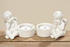 Deko-Kerzenständer & -Teelichthalter aus Porzellan für