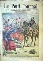Le Petit Journal N°963 du 13/6/1909 Cinquantenaire de la campagne d'Italie