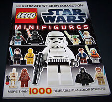 DK Ultimate Sticker Collection: LEGO Star Wars Minifigures Paperback Book