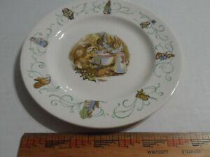 Peter Rabbit Beatrix Potter Porcelain Plate #527 Adorable