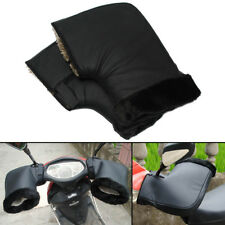 Pair Motorcycle Grip HandleBar Muffs Waterproof Winter Warmer Thermal Glove Warm