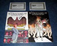 THE UNSOUND #1 A & B signed variant 1st print set BOOM STUDIOS COMIC 2018 NM COA