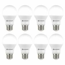8 Pack EcoSmart 60-Watt Equivalent A19 Non-Dimmable LED Light Bulb Daylight
