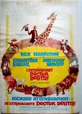 DOCTOR DOLITTLE Belgian movie poster 1967 REX HARRISON VINTAGE RAY ELSEVIERS art