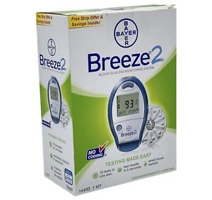 Bayer Breeze 2 Blood Glucose Monitoring System 1440D ***Test Strips NOT Included