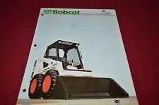 Bobcat 641 642 Skid Steer Loader Dealers Brochure DCPA2