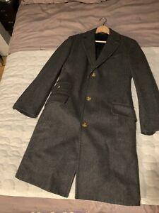Vivienne Westwood Mens Winter Long Coat Used Size 48