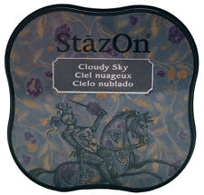 StazOn® Midi Solvent Ink Pad, Cloudy Sky NEW FR11