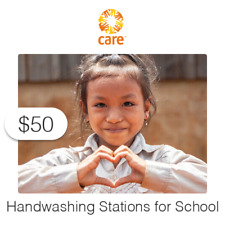 $50 Charitable Donation For: Handwashing Stations for Schools